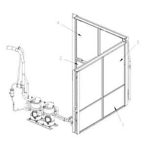 Compresor Danfoss 1/2hp+...