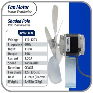 Us Motor 1/3hp 1075rpm...